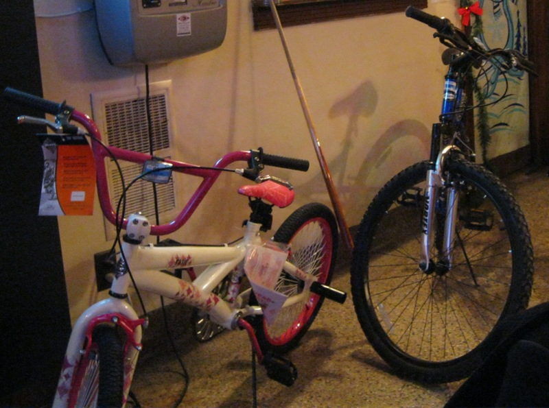 Pictured: Two Bikes Donated to Salvation Army!